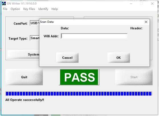 [MTK] MT8735 写WIFI MAC操作说明